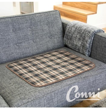 Large Chair Pad - Color Tartan