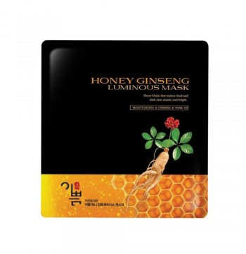 Honey Ginseng Luminouse Mask (Piece)