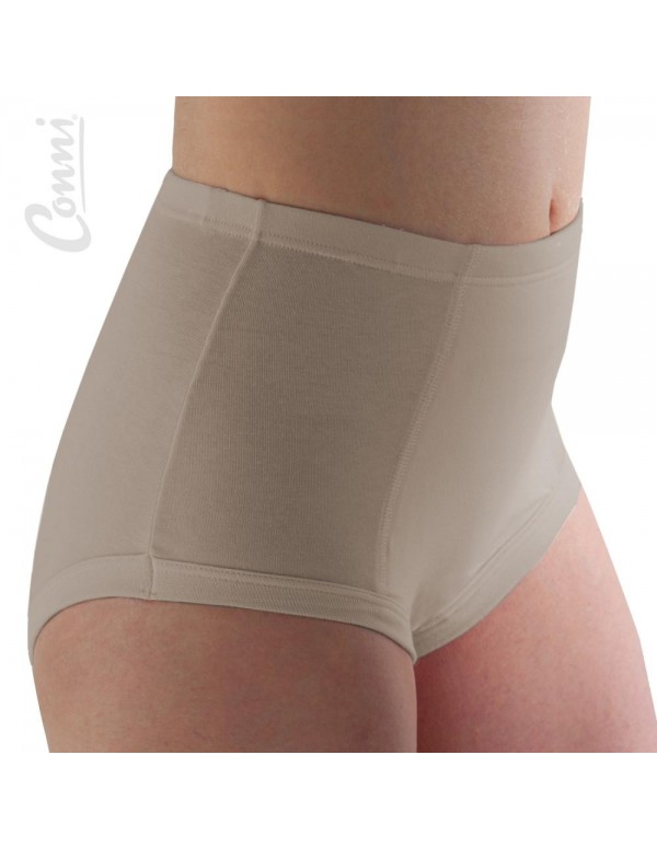 Classic Washable Incontinence Ladies Brief - Beige