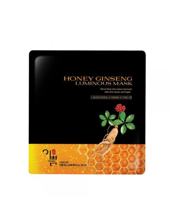 Honey Ginseng Luminous Mask (Pack of 10)