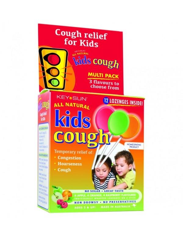 Cough Multipack - Apple, Orange, Raspberry