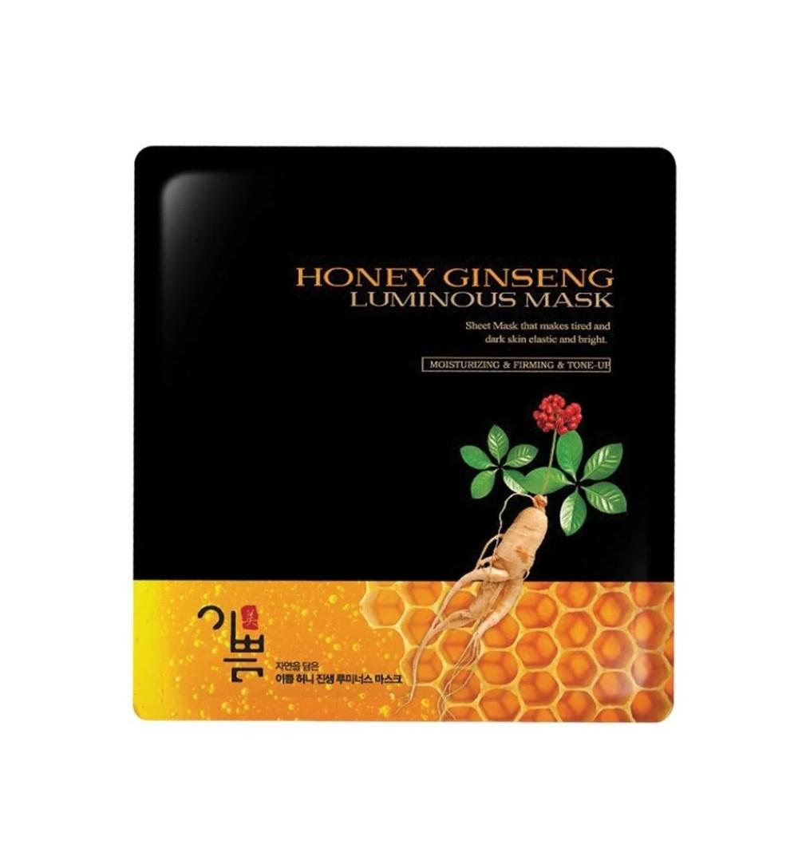 Honey Ginseng Luminouse Mask (Piece)